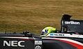 Kimiya Sato Sauber 2013 Silverstone F1 Test 004.jpg