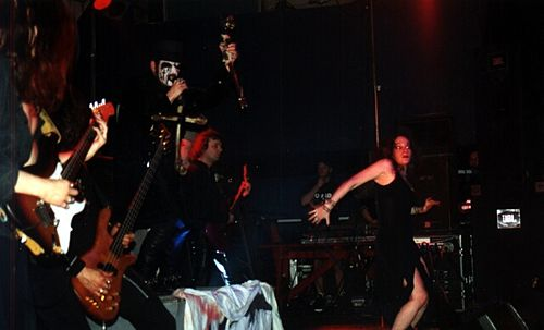 King Diamond performing in Kraków, 2001 King Diamond.jpg