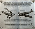 Kingston, Canbury Park Aircraft Factory plaque 2.jpg