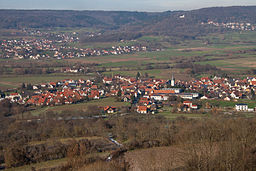 Kirchehrenbach, Blick vom Walberla