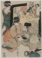 Kitagawa Utamaro - Chushingura- Act I of The Storehouse of Loyalty - 1921.353 - Cleveland Museum of Art.tif