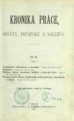 Kronika práce, osvěty, průmyslu a nálezův