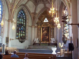 Klara Church - Church's sanctuary