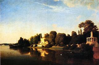 Ufer des Glienicker Parks