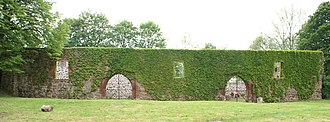 Commandry of Nemerow - Ruins of the order's barn