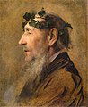 Klimt - Study of an Old Man with Ivy Wreath, 1888-1890.jpg