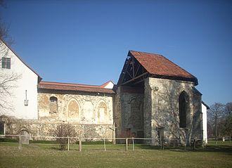 Dorstadt - Monastery church ruins