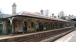 Knaresborough railway station (19th March 2013) 004.JPG