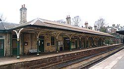 Knaresborough railway station (19th March 2013) 004.JPG