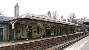 Knaresborough - Knaresborough railway station.
