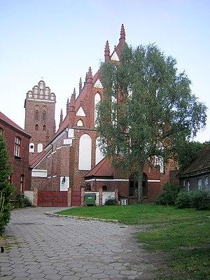 Iława - Image: Kościół Przemienienia Pańskiego w Iławie FASADA