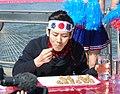 Kobayashi Takeru competitive eater with hachimaki.jpg