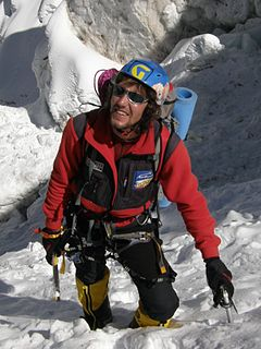 Russian mountaineer