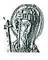 Konstantinos VII Porphyrogennetos, ivopry carving from c. 950.jpg