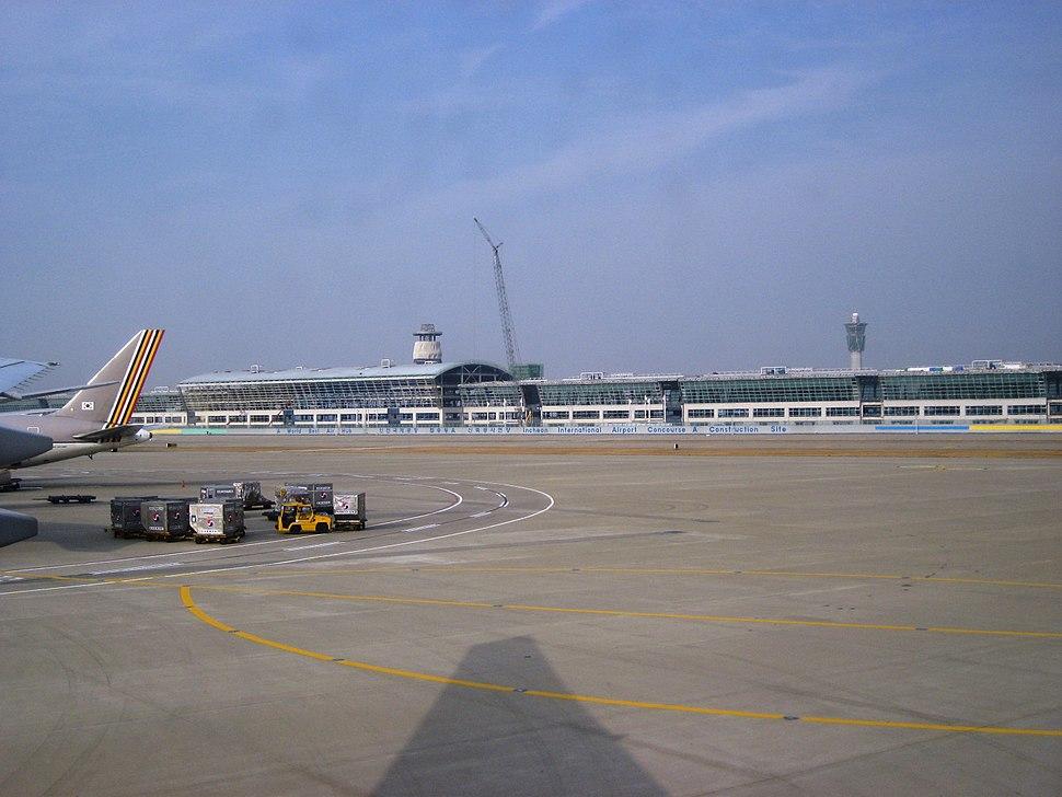Korea-Incheon-International-Airport-New-Satellite-buildingA-under-construction