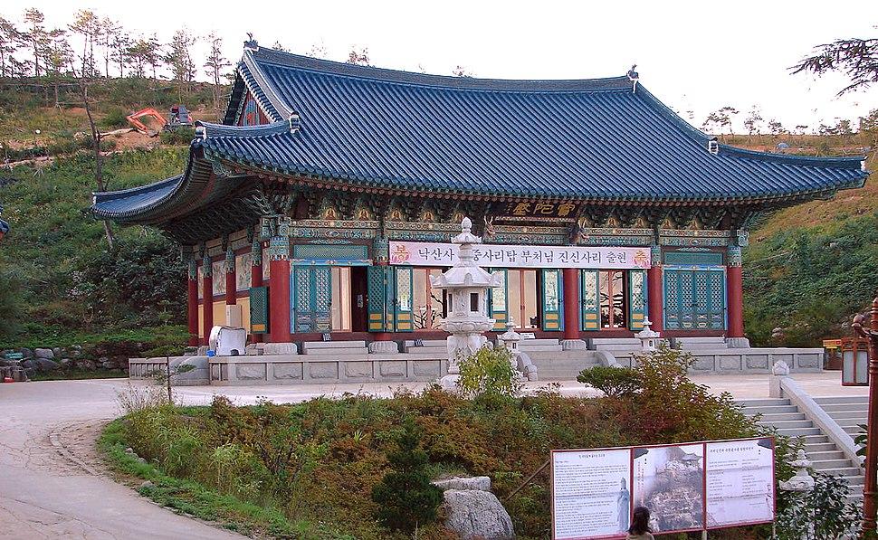 Korea-Naksansa 2215-07 grounds