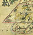 Korean art-Donggwoldo detail-Changdeokgung-Donhwamun and its vicinity-01.jpg