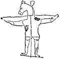 Kors, Smädekrucifix, Nordisk familjebok.png