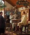 Krøyer being modelled.jpg