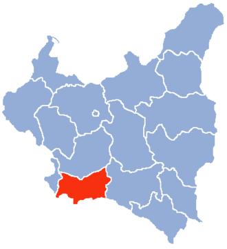 Kraków Voivodeship - Image: Krakow Voivodship 1938