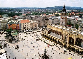 Image illustrative de l'article Place du marché principal de Cracovie