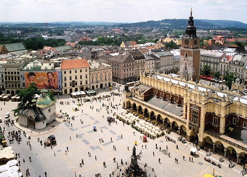 Krakow rynek 01