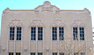 S. H. Kress & Co. defunct chain of five and dime stores in USA