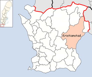Kristianstad Municipality in Scania County.png