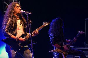 Indian rock - Kryptos performing at Harley Rock Riders Season III.
