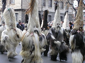 Culture of Bulgaria - Kukeri in Razlog