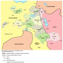 Tarihte Kurulan Kürt Beylikler Emirlikler Prenslikler ve Hanedanlıklar 9