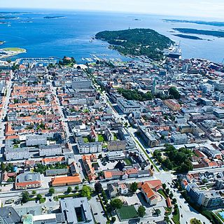 Kristiansand City in Norway