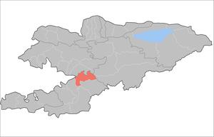 Uzgen District - Image: Kyrgyzstan Özgön Raion