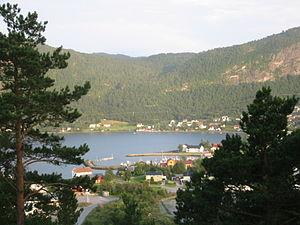 Hemne - View of Kyrksæterøra