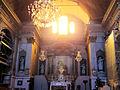 L'Escarène - Église Saint-Pierre-ès-Liens - La nef et le choeur en cours de restauration.JPG