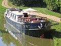 L'art de Vivre Hotel Barge Moored on the Nivernais Canal.jpg
