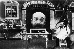 1901 in film - The Man with the Rubber Head.