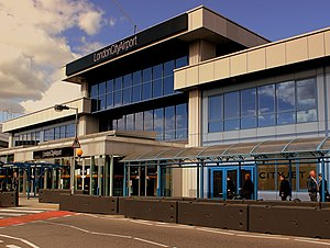 London City Airport - Main terminal building