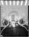 LOOKING DOWN AT ALTAR, WEDDING IN PROCESS - U.S. Naval Academy, Academy Chapel, Annapolis, Anne Arundel County, MD HABS MD,2-ANNA,65-1-14.tif