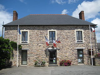 La Chapelle-Bouëxic Commune in Brittany, France