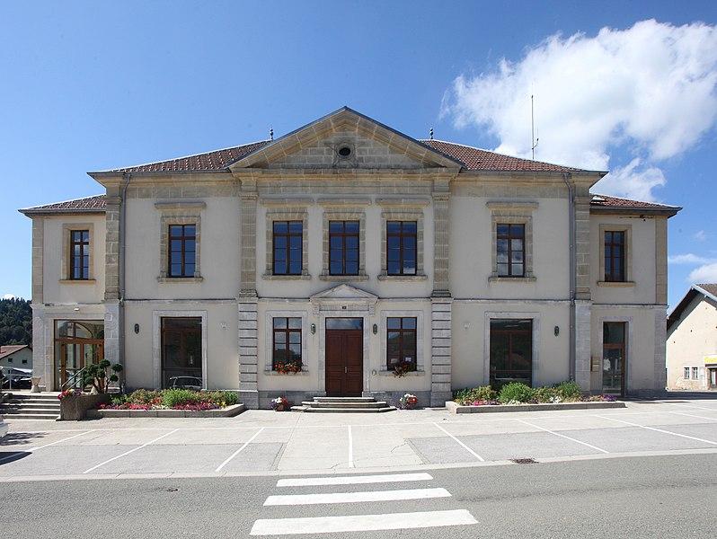 Mairie de La Chaux (Doubs).