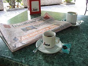 La Gazzetta dello Sport newspaper.