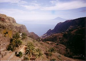 Silbo Gomero - The narrow valleys of La Gomera.