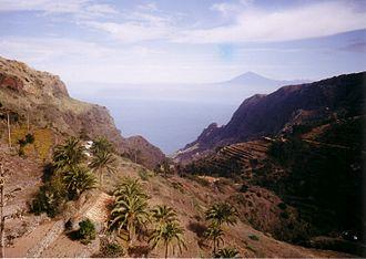 Silbo Gomero - The narrow valleys of La Gomera.