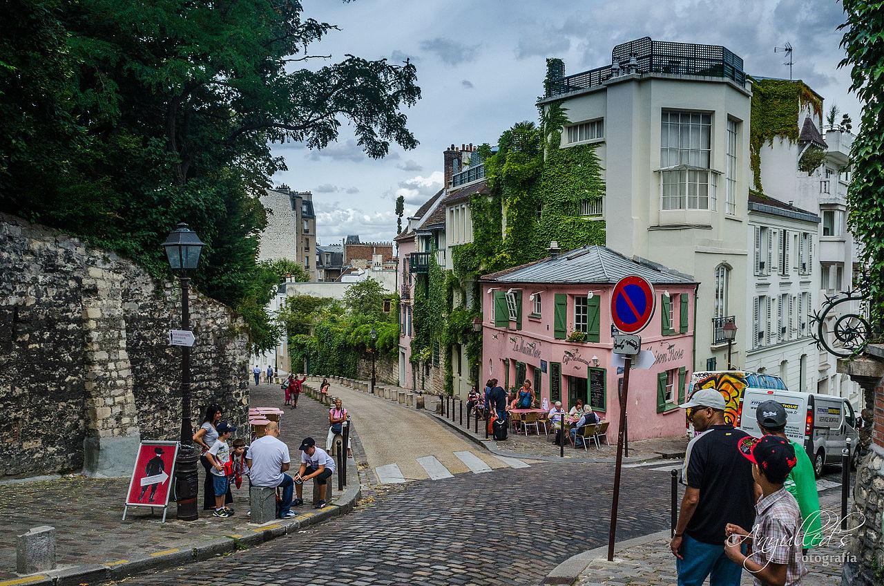 File la maison rose paris 13 august wikimedia commons - La maison paris 17 ...