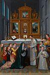 La comunión de la Virgen o La familia del archiduque Carlos de Estiria (Monasterio de las Descalzas Reales, Madrid).jpg
