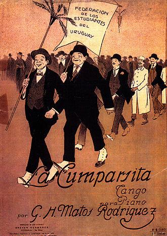 Gerardo Matos Rodríguez - Breyer Hermanos, La Cumparsita, 1916