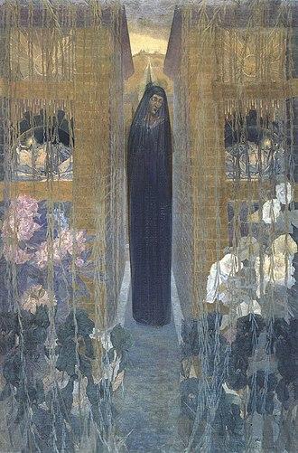 Carlos Schwabe - Image: La douleur 1893