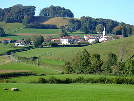 A general view of Lacarre