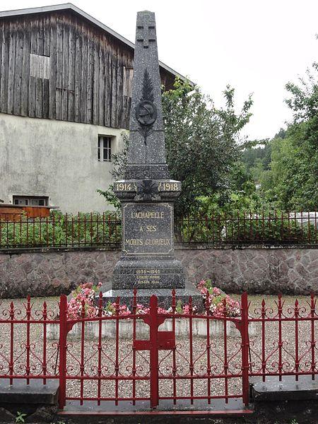 Lachapelle (M-et-M) monument aux morts